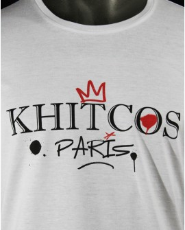 "T-Shirt Col Rond  ""Street Art Khitcos"" Homme"