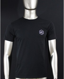 "T-Shirt Col Rond ""Basic KC"" Noir"