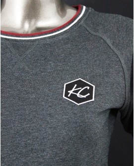 "Sweat Rayure ""Basic KC"""
