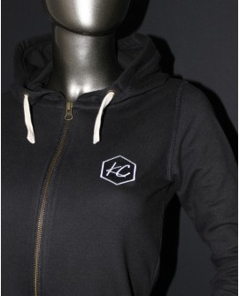 "Sweat Zippé à Capuche ""Basic KC"""