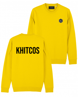 SWEAT KHITCOS LOGO YELLOW